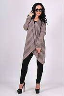 Милая женская кофта кардиган вязаный ажурный 42-46 универсальный размер