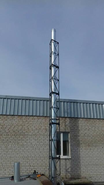 ТОВ Бердянские Колбасы Котел GEFEST PROFI P 150 кВт + Горелка ECO PALNIK UNI MAX 150 кВт WOODHEAT 5