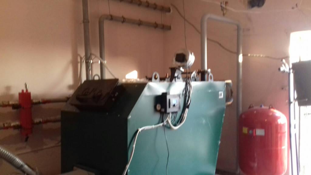 ТОВ Бердянские Колбасы Котел GEFEST PROFI P 150 кВт + Горелка ECO PALNIK UNI MAX 150 кВт WOODHEAT
