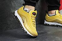 Мужские кроссовки Nike 97 (золотые), ТОП-реплика, фото 1