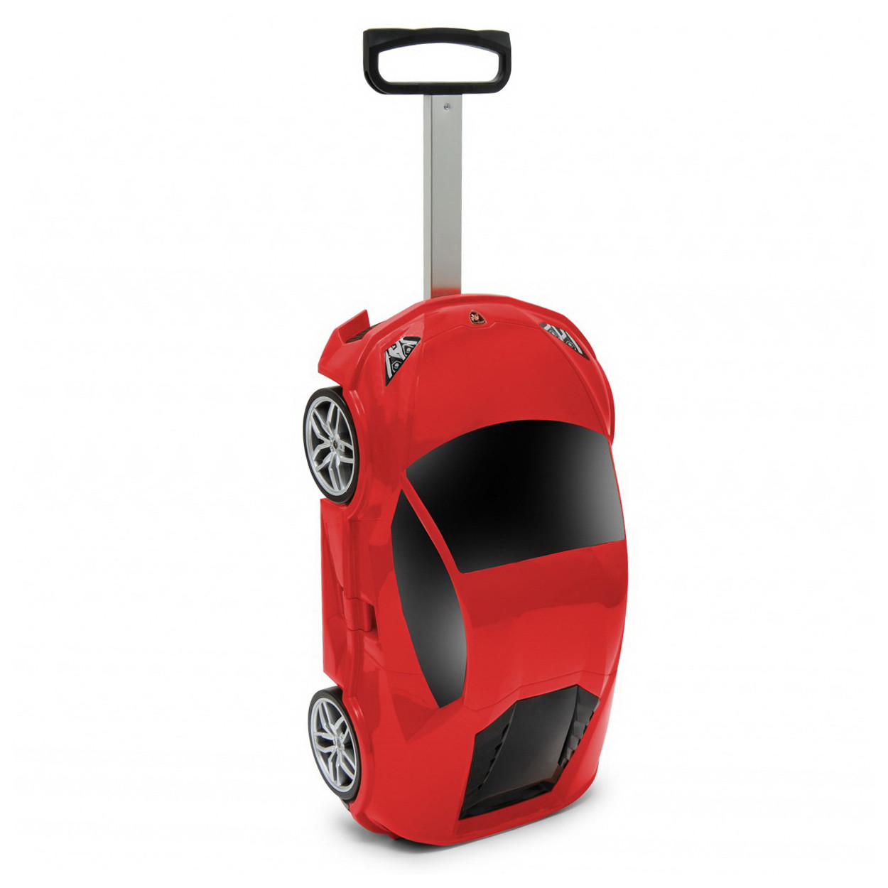 Чемодан на колёсах машинка Lamborghini Huracan красный, «Ridaz» (91002W-Red)