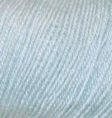 Нитки Alize Baby Wool 224 Сине-голубой