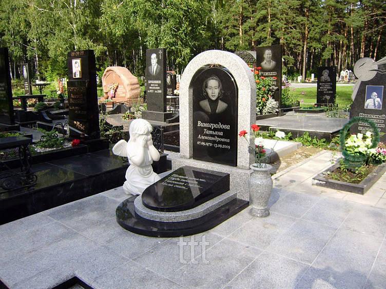 Детский памятник с ангелочком№ 3