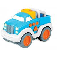 Машинка «Press & Go» со звуковыми и световыми эффектами синяя
