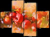 Модульная картина Натюрморт из яблок