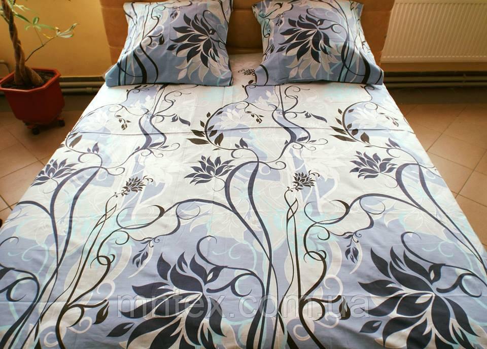 Комплект постельного белья бязь Голд Мечта на сером