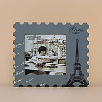 Шкатулка Почтовая марка - Париж на 8 Марта