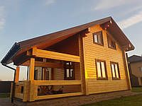 Реставрация деревянного дома (сруб, брус, дикий сруб)