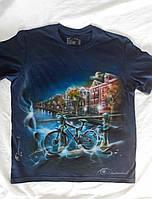 Аэрография на футболке (Амстердам)