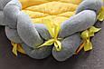 Кокон-трансформер для новорожденного со съёмной косичкой (цвет на выбор), фото 10