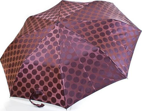 Женский, стильный зонт автомат ZEST (ЗЕСТ) Z23843-3 коричневый Антиветер!