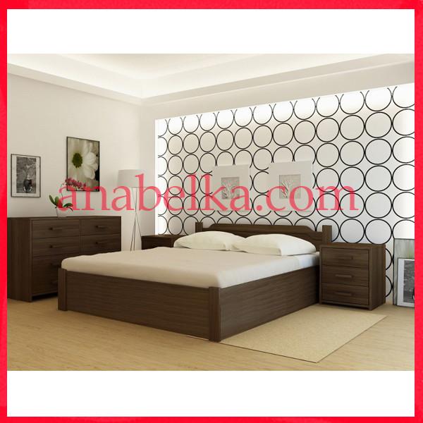 Кровать деревянная  Стокгольм   с подъёмным механизмом  (Анабель)