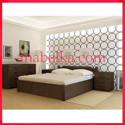 Кровать деревянная  Стокгольм   с подъёмным механизмом  (Анабель) , фото 2