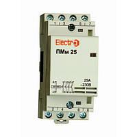 Пускатель модульный ПМм 4P 25A 20 кВт 380В Electro