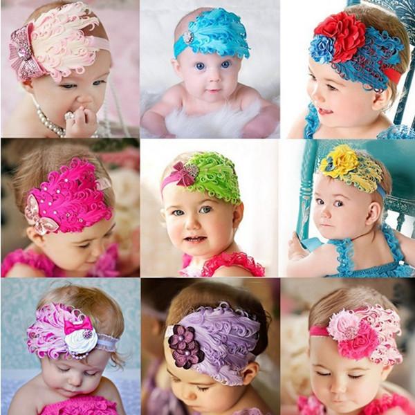 Перьевые повязки на голову