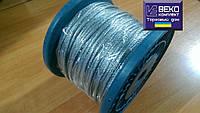 Трос сталь цинк. 2мм (DIN 3055 6x7) 100м Китай