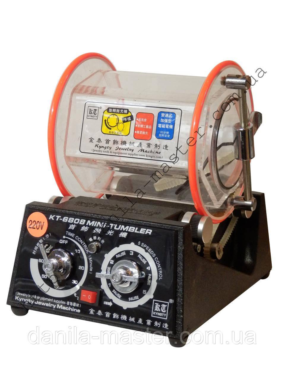 Барабанна галтовка KT-6808
