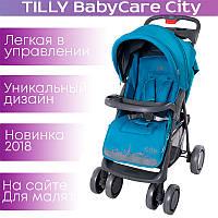 Детская прогулочная коляска BABYCARE City BC-5201 Blue
