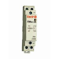 Пускатель модульный ПМм 2P 25A 4 кВт 230В Electro