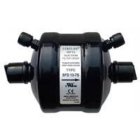 """Фильтр осушитель (молекулярное сито) на всасывающую линию с клапанами Шредера SFD 27-7S (7/8"""" пайка)"""