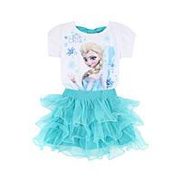 Комплект юбка и футболка для девочки