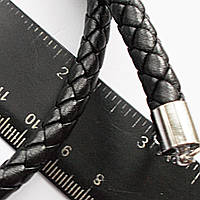 Мужской плетенный чокер на шею без подвески.