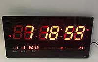Настенные электронные часы Led Clock 4622 (46x22см/Руское меню)