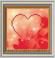 МЛ-3 Схема для вишивки бісером Серце