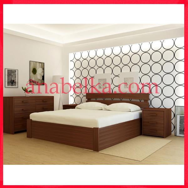 Кровать деревянная  Токио  с подъёмным механизмом  (Анабель)