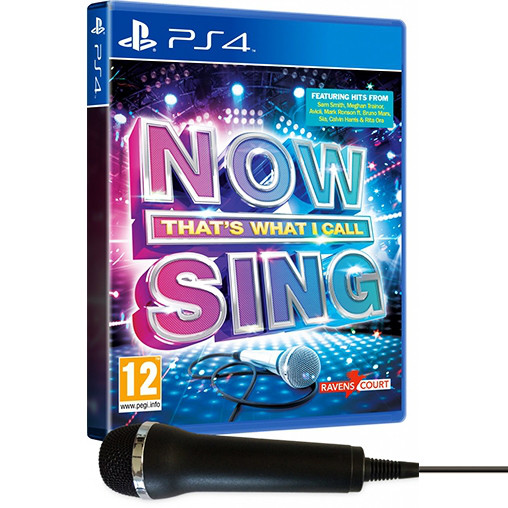 игра караоке Now That's What I Call Sing PS4