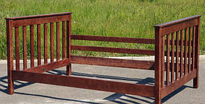Двухъярусная семейная кровать с ящиками  из массива сосны Скандинавия Микс мебель, цвет на выбор, фото 3