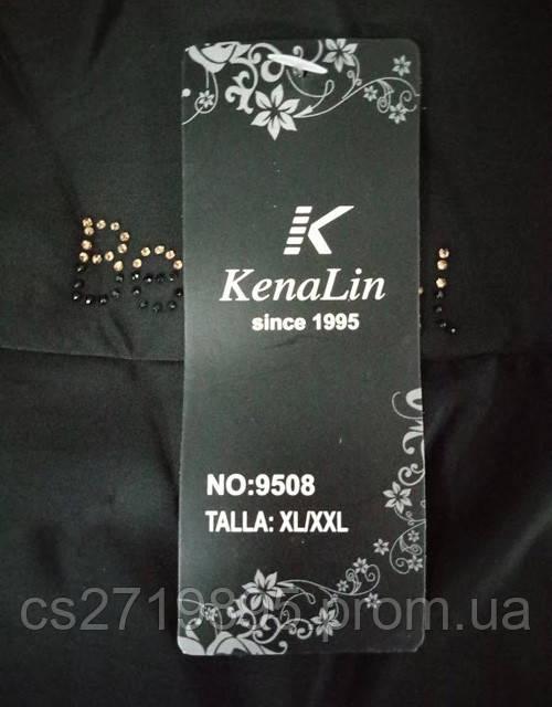 Гамаши женские КЕНАЛИН 9508 черныестазы на поясе  M/L, L/XL,XL/2XL