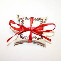 Коробка подушка с орнаментом, фото 1