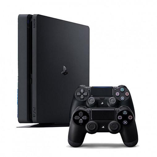 Игровая приставка Playstation 4 Slim 1000 GB 2 Dualshock