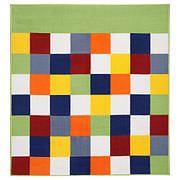 ЛАТТО Ковер, короткий ворс, разноцветный, 133x140 см, IKEA, ИКЕА, 30378331 LATTJO