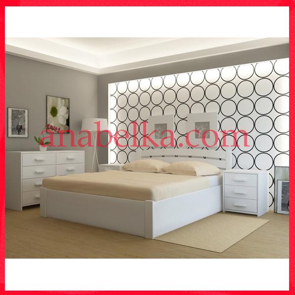 Кровать деревянная  Мадрид   с подъёмным механизмом  (Анабель)