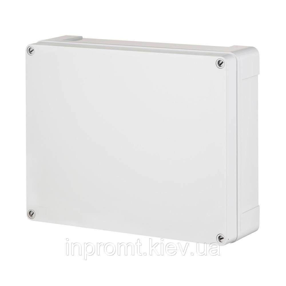 INDUSTRIAL Box коробка накладна 313x253x165 сіра RAL 7035 IP 65
