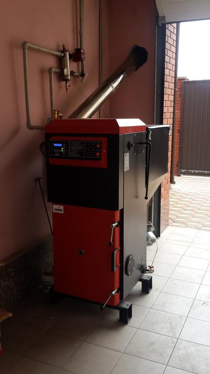 Пеллетный котел VERNER A 25 кВт г. Александрия