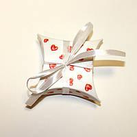 Коробка подушка с сердечками, фото 1