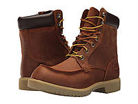 "Ботинки/Сапоги (Оригинал) Timberland Elmstead Waterproof 6"" Moc Boot Dark Sudan Brown"