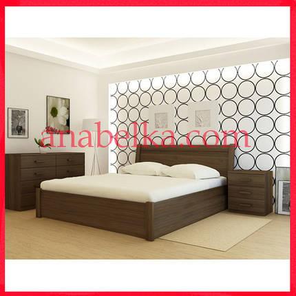 Кровать деревянная  Халкида  с подъёмным механизмом  (Анабель) , фото 2