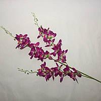 Искусственные цветы Ветка Орхидея дендробиум (6 шт)