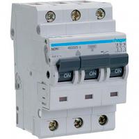 Автоматический выключатель 3п, D-40А, 10 kA, 3м Hager