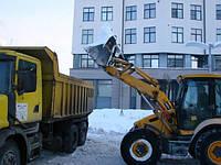 Комплекс услуг по механизированой уборке снега. Погрузчик + Самосвал!