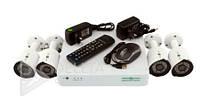 Комплект видеонаблюдения Green Vision GV-K-G02/04 720Р, AHD камера, система видеонаблюдения