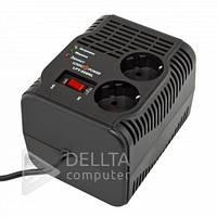 Стабилизатор напряжения LPT-500RL, 350Вт, 2А, LED индикация, входное 160В-250В, выходное напряжение 220В, релейный стабилизатор