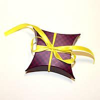 Коробка подушка фиолет