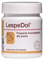 Dolfos ЛеспеДол 40 таблеток - мочегонный препарат для  собак (1086-40)