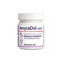 Dolfos AmylaDol Mini- пищеварительные энзимы для собак и кошек 90таб (1702-90)