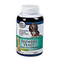Four Paws Brewers Yeast with Garlic 500таблеток-комплекс для здоровья кожи шерсти и кожи собак и котов